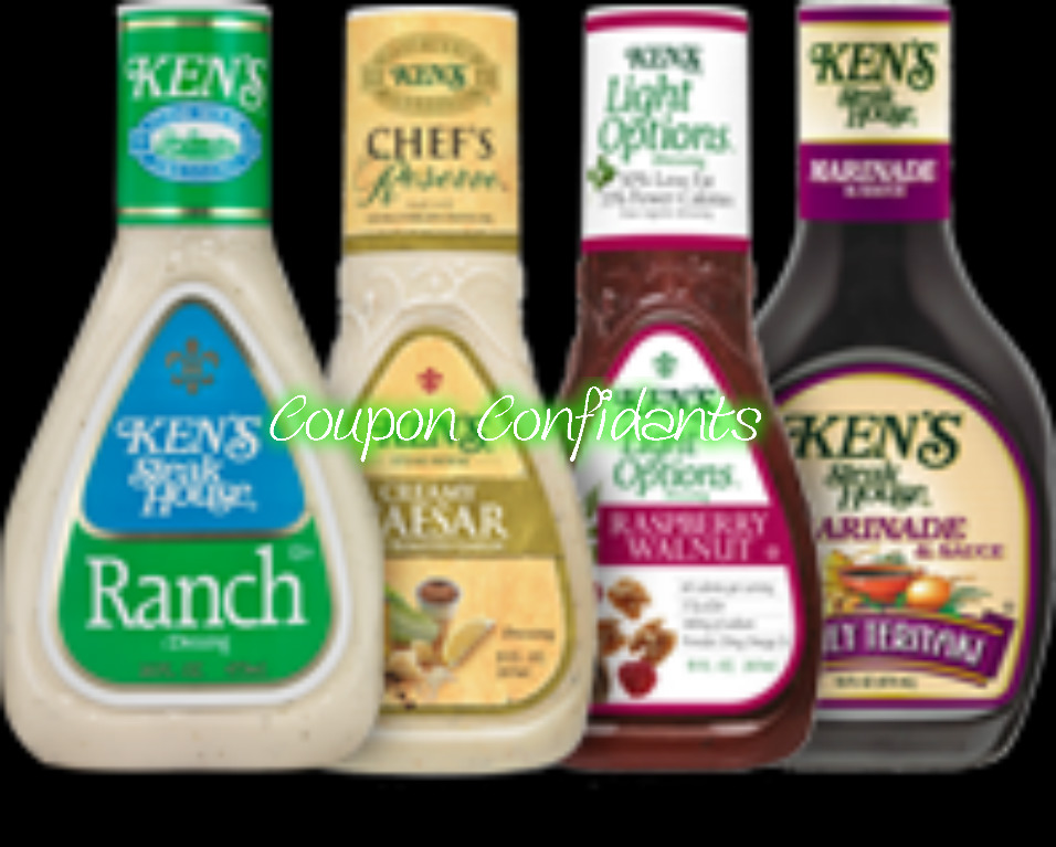 Ken's Dressing 80¢ at Winn Dixie and Bilo!