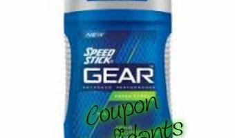 $1.oo Speed Stick Deodorant at CVS
