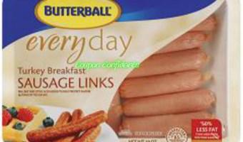 Turkey Sausage links only $.75~Publix!
