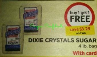 Dixie sugars $ 1.09 a bag at Bi Lo