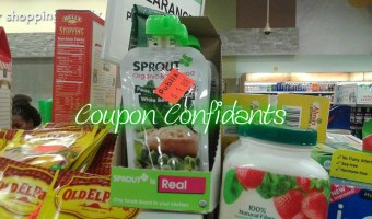 FREE Sprout Organic Baby Food @ Publix starts 1/2