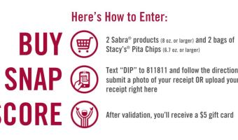 Unbelievable deal @ any store for Sabra & Stacy's Pita Chips