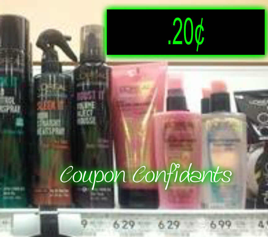 Loreal Shampoo, Conditioner & Stylers just 20¢ @ Publix ~ Print now!!!!