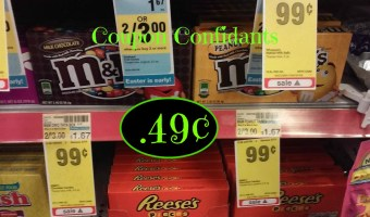 Easter Basket Cheap find: M&Ms just  .49¢ each @ CVS