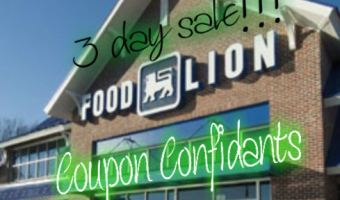 Food Lion – 3 Day Sale Apr 15 – Apr 17