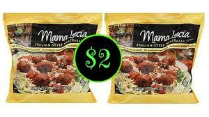 Mama Lucia Meatballs $2 a bag at Publix!