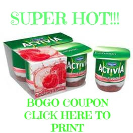 activia bogo coupon