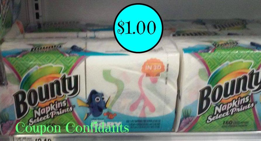 ~ Hot deal! ~ Bounty napkins as low as $.99¢ @ Publix