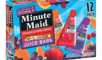 Minute Maid Frozen Bars $1.50 2 more days at Ingles!!
