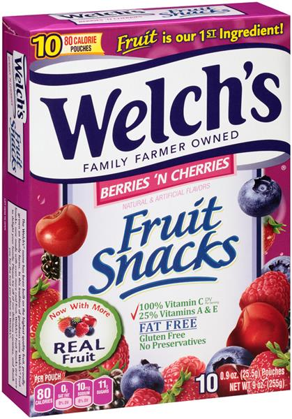 99¢ Welch's Snacks at Winn Dixie and Bilo!