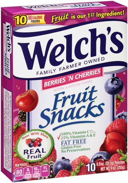 99¢ Welch's Snacks at Winn Dixie and Bilo!