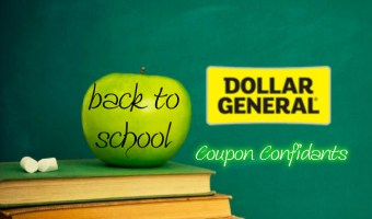 Dollar General – Back to School Savings Round up!
