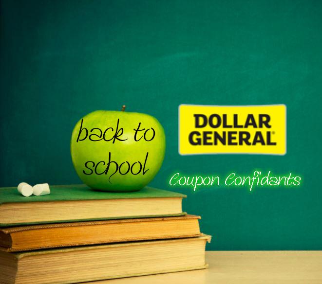 dollar general back to school