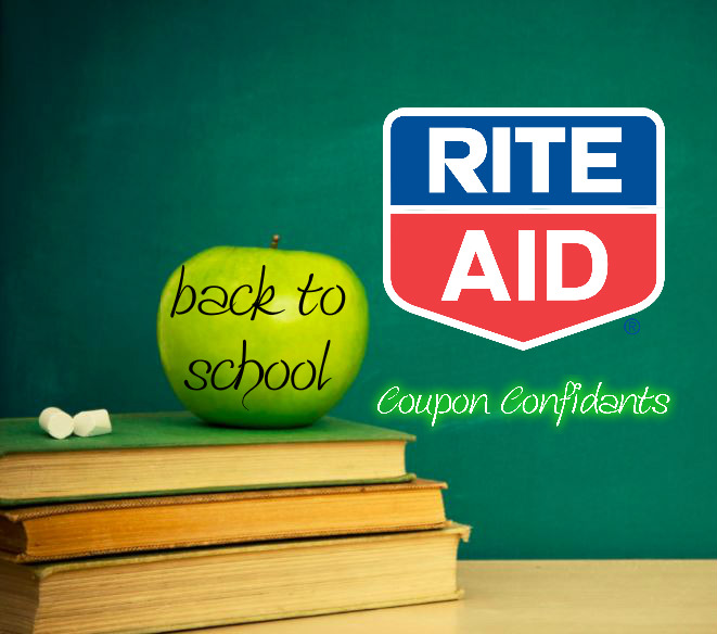 Rite Aid Back to School August 20 - August 26
