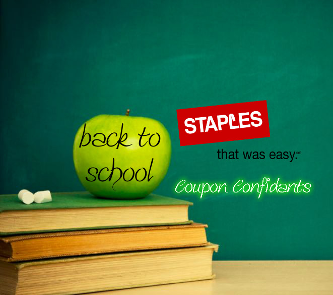 Staples Back to School Deals Aug 20 - Aug 26