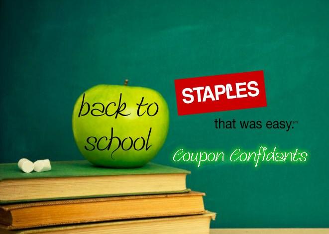 Staples Back to School Deals! 07/22 – 07/28