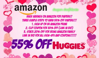 HUGE Diaper Sale on Amazon 55% off!!!! WOW!!
