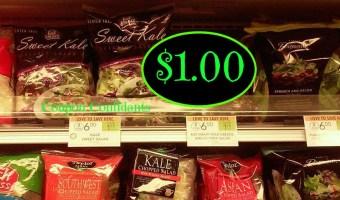 Healthy Deal Alert! Eat Smart Salad Kits $1 @ Publix!!!