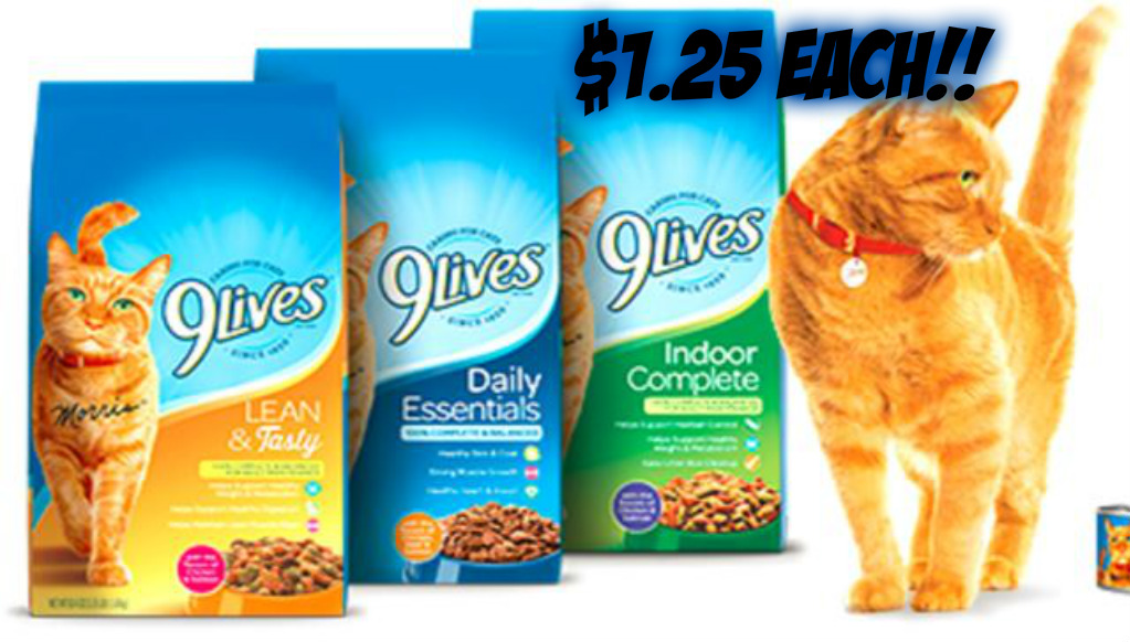 9lives Dry Cat Food only $1.25 at Publix – NEW ADD ON DEAL!