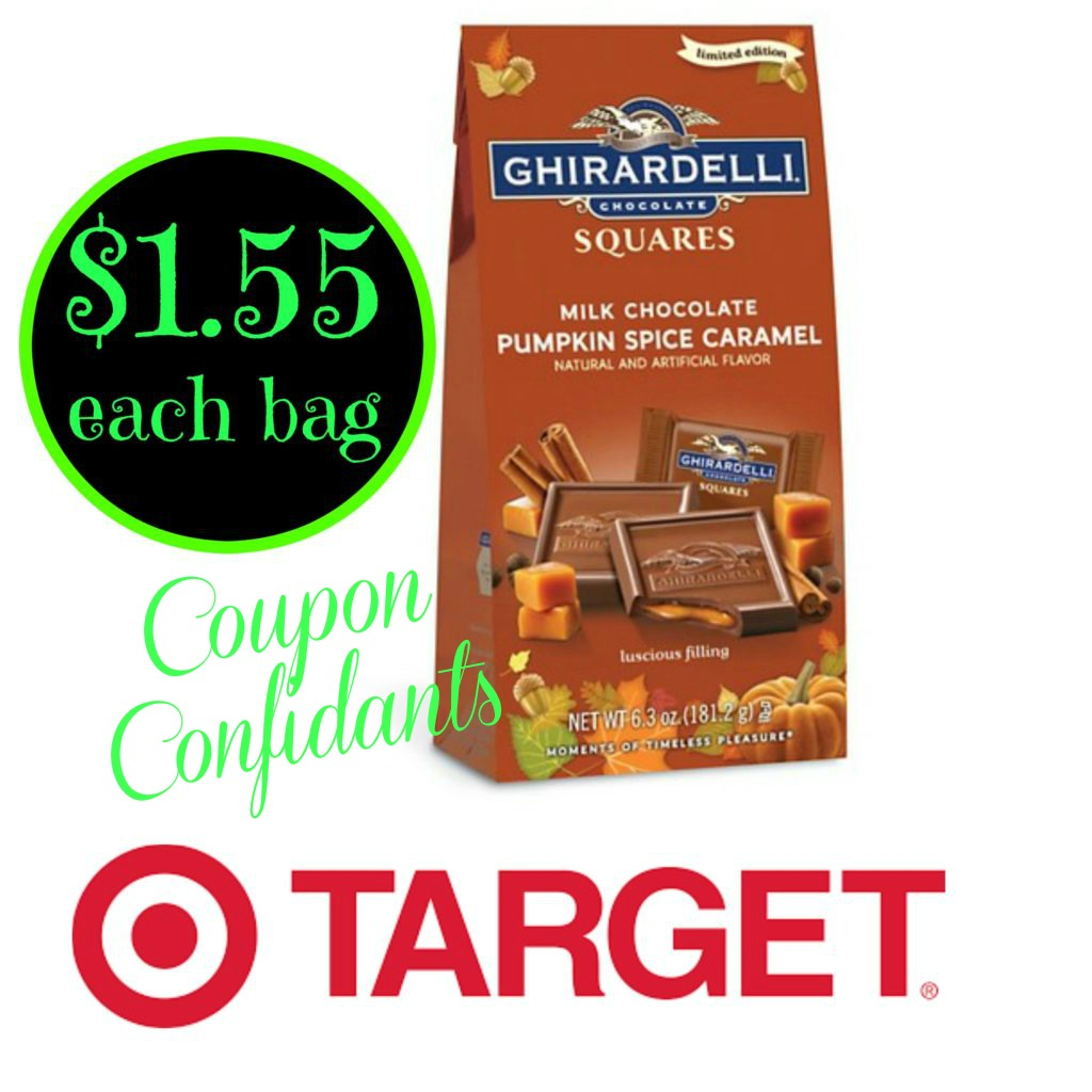 photo relating to Ghirardelli Printable Coupon referred to as Ghirardelli sqaures luggage merely $1.55 @ Aim!!! ⋆ Coupon