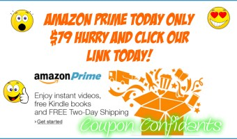 AMAZING Amazon Prime Deal!! Today only!!