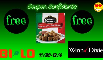 FREE Cooked Perfect Meatballs at Winn Dixie!