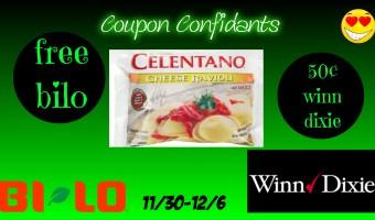 FREE Celentano at Bi-lo! Great price at Winn Dixie too!