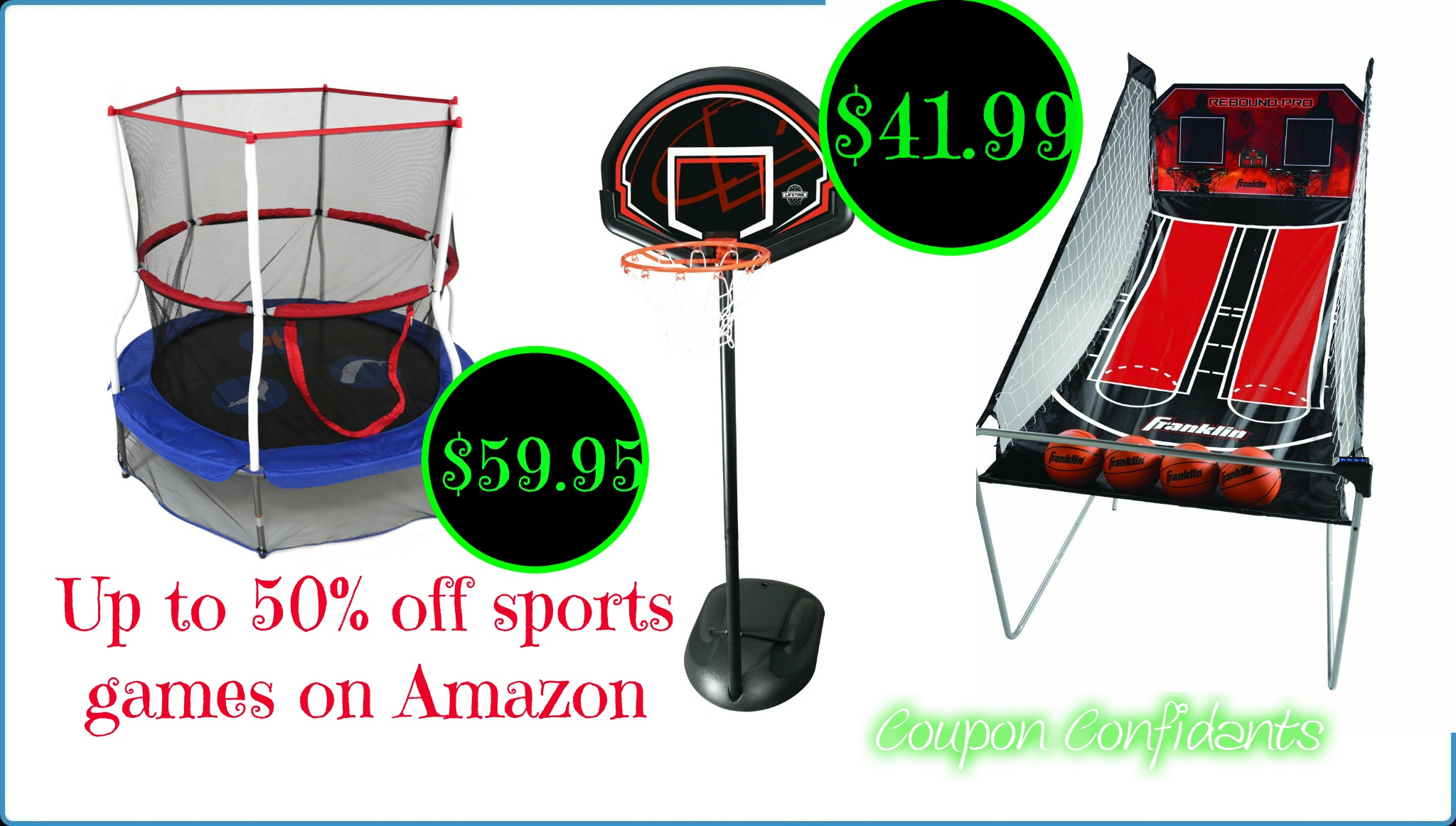 Another great Amazon Deal of the Day, up to 50% off sports products
