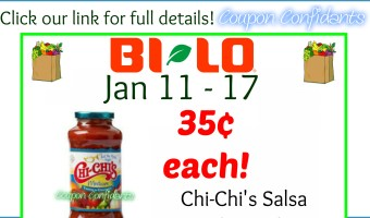Salsa for as low as 35¢ at Bi-lo! SPICY Deal!