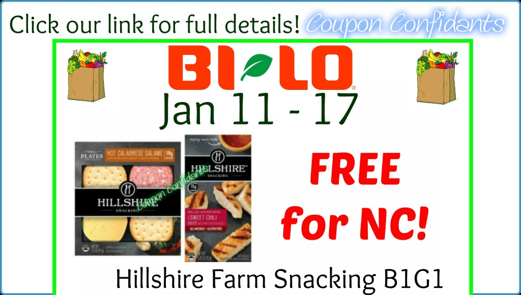 FREE Hillshire Farm Snacking Plate for some at Bi-lo!
