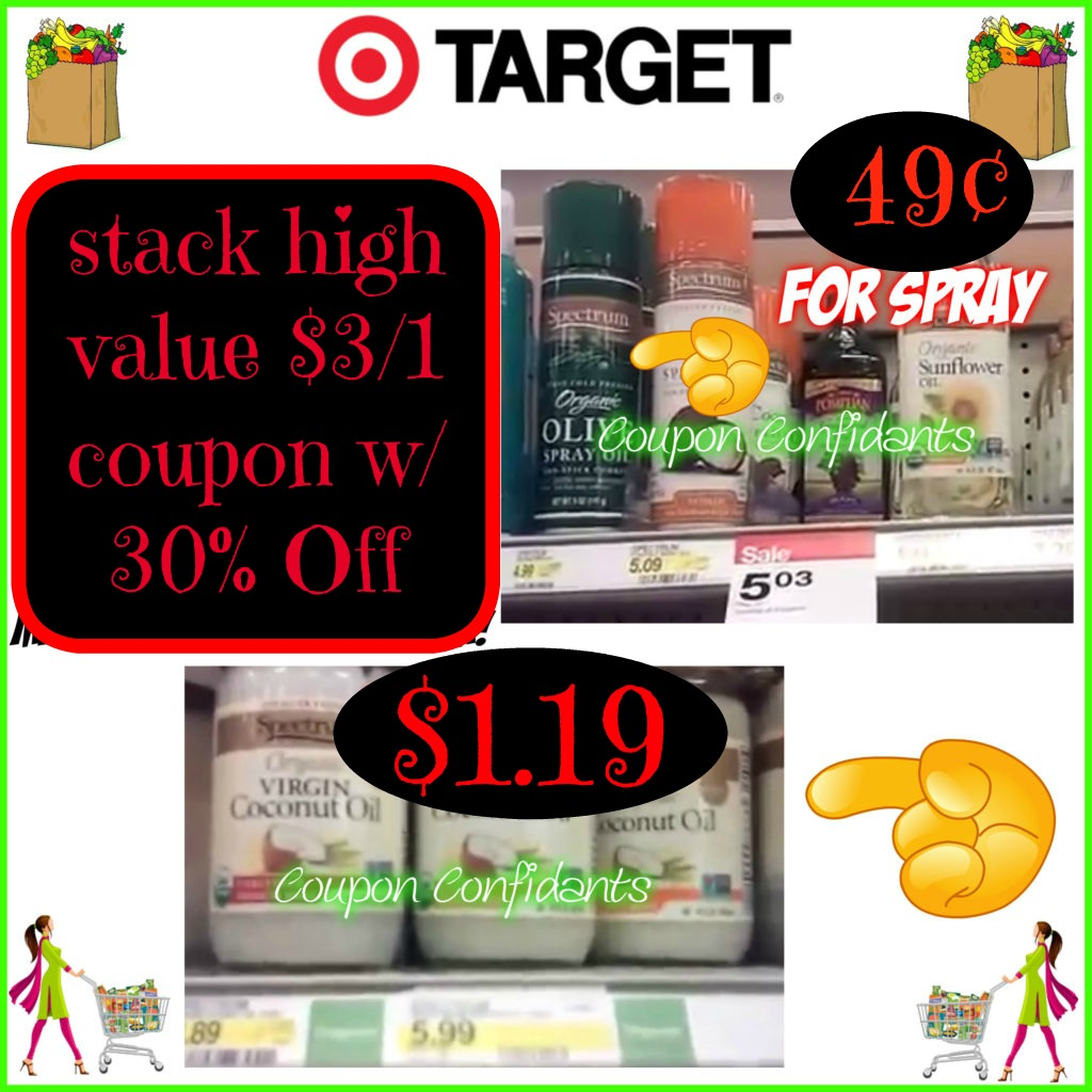 HOT deal on Spectrum Oils at Target as low as 49¢