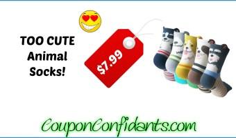 Adorable Must have Animal Socks!! :)