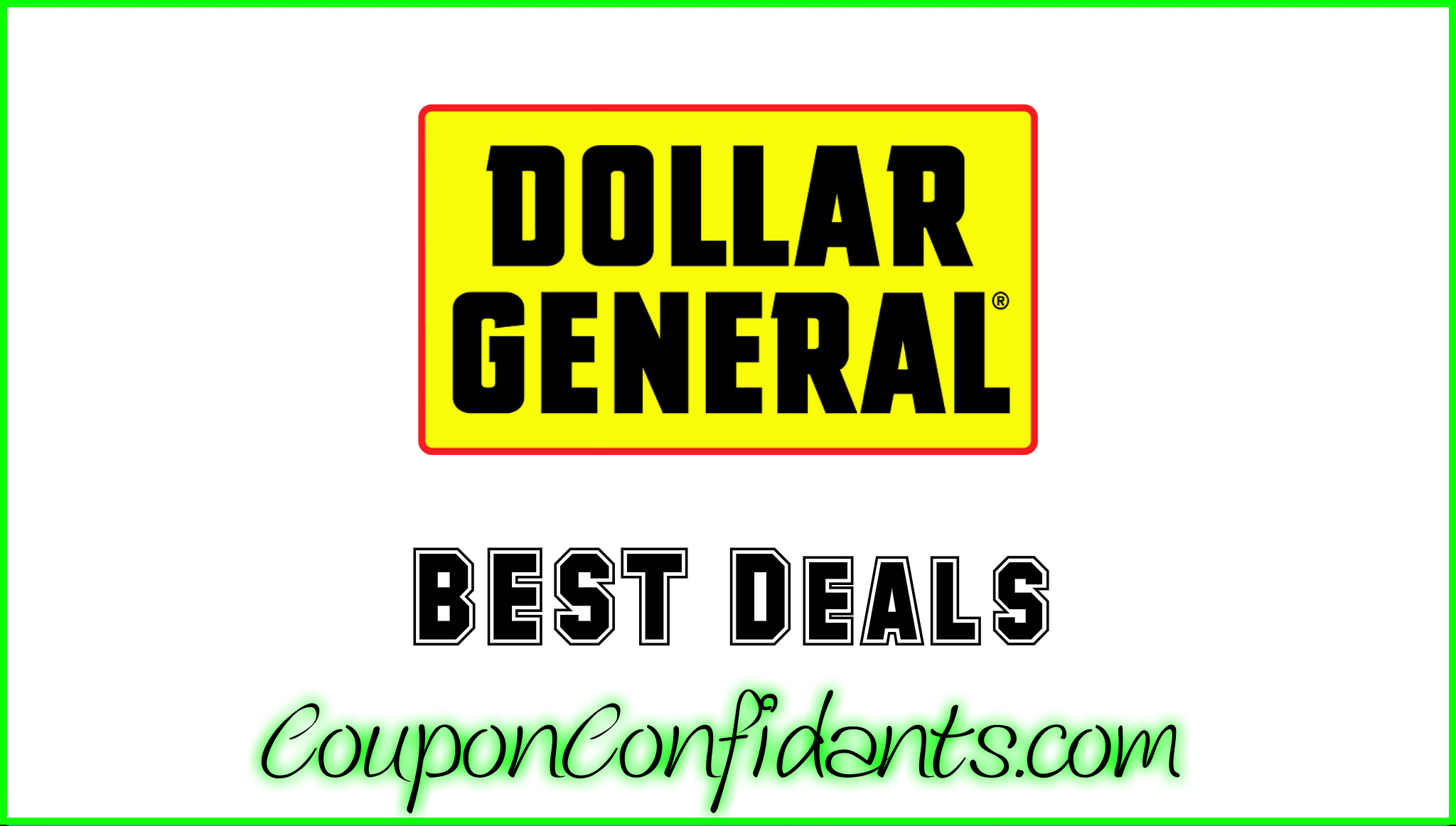 Dollar General - Nov 01 - Nov 03 3 DAY SALE!~