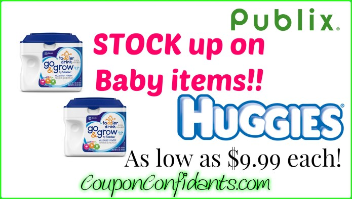 Diapers And Formula For A Stock Up Price At Publix