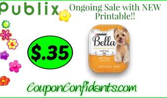 Bella Dog Food only $0.35 at Publix!!