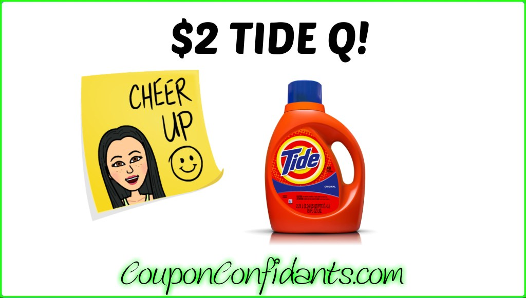 $2/1 Tide Coupon is here!!
