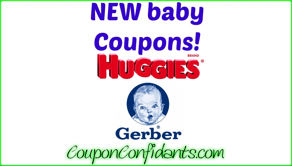 NEW Huggies Coupons!
