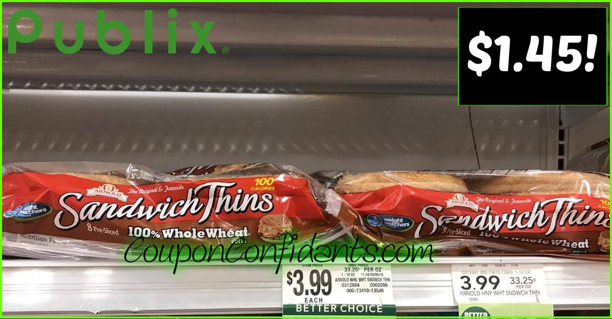 Healthy Bread Deal at Publix!