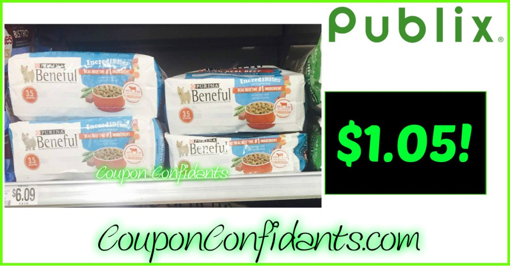 Beneful $1.05 at Publix! YES!