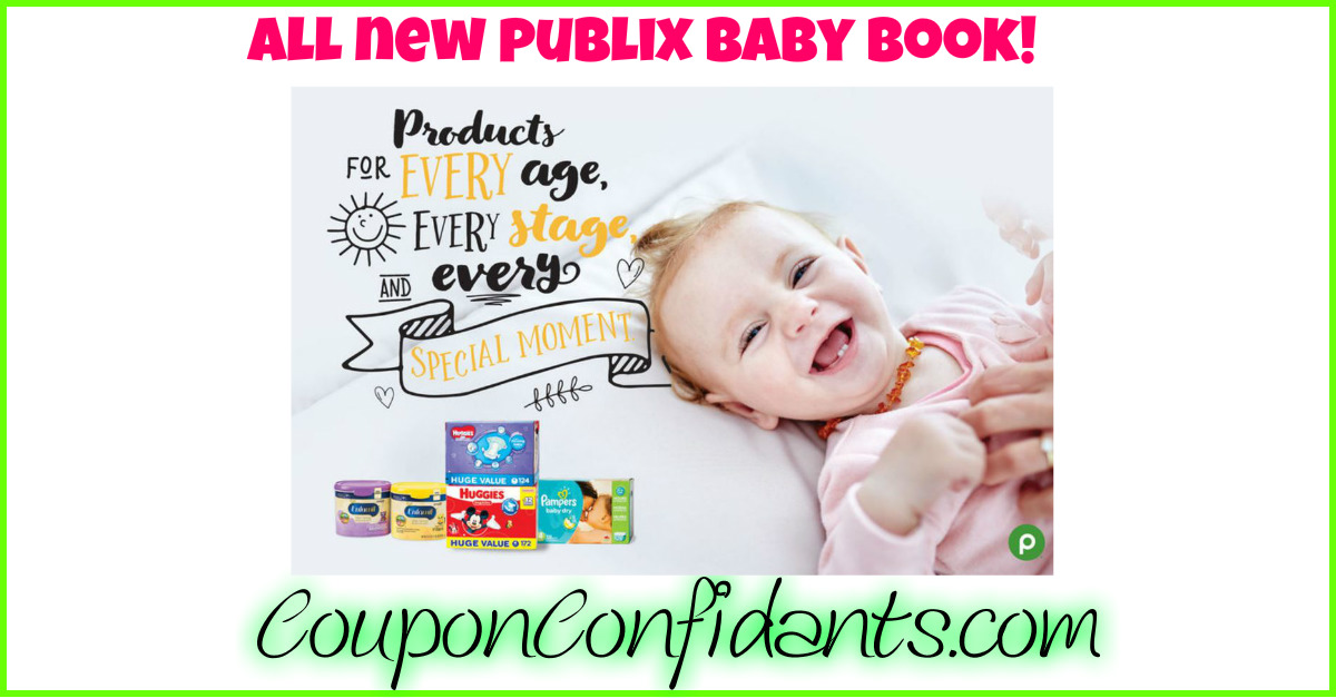 All NEW Publix Baby Book - Printable too!