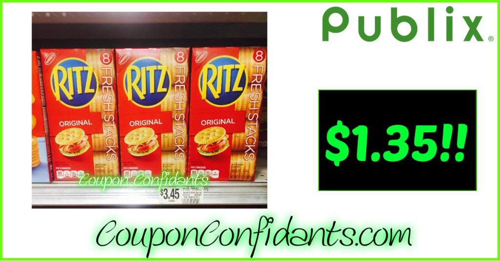 Ritz for $1.35 at Publix!