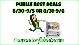 Publix Video for Deals 8/30 – 9/5 or 8/31 – 9/6