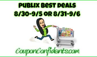 Publix Video for Deals 8/30 – 9/5 or 8/31 – 9/6