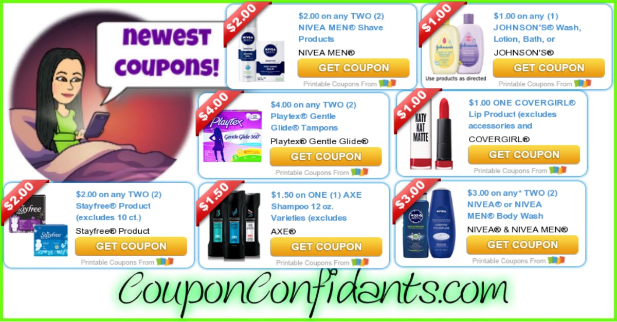 October 8 NEW Coupons!