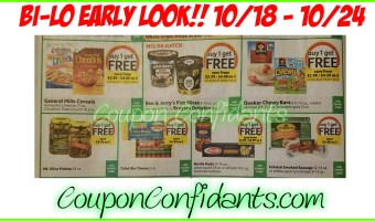 Bi-lo  Best Deals – Early Look!! 10/18 – 10/24