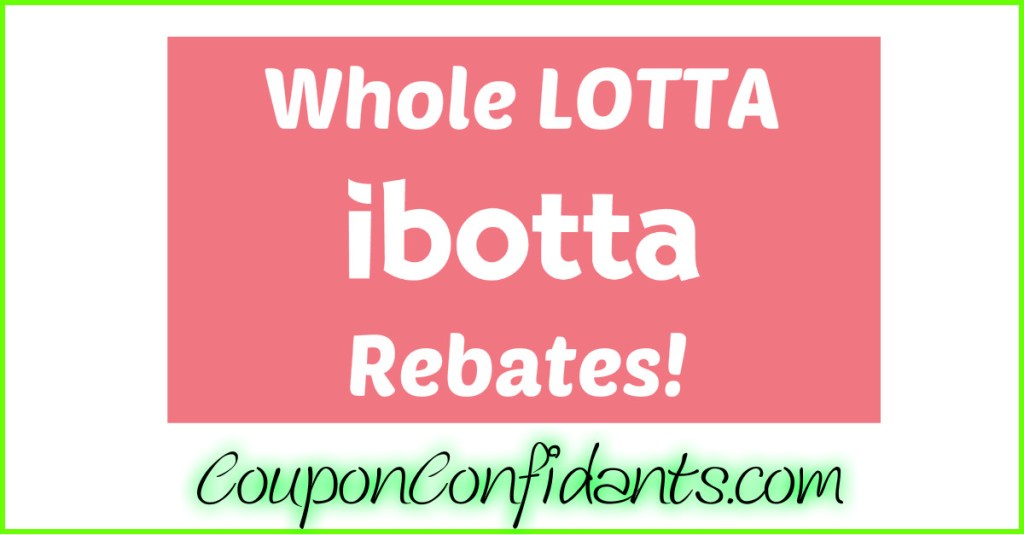 NEW Ibotta Rebates in one spot!