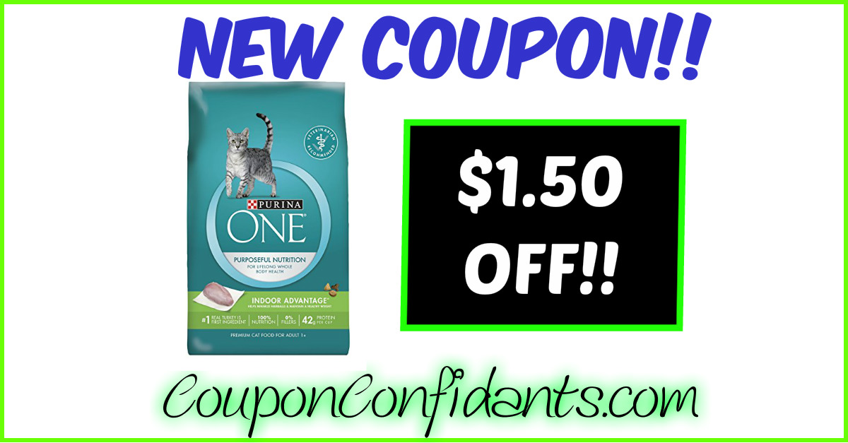 MUST Print Coupon!! $1.50 off Purina ONE