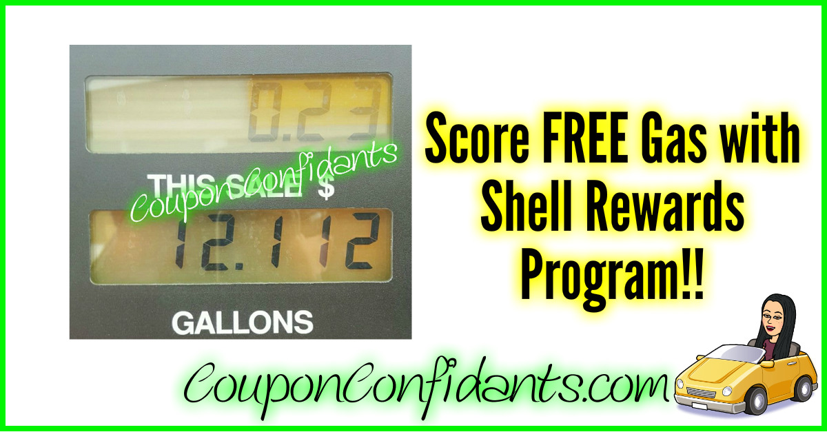 Earn FREE Gas with Shell Rewards!