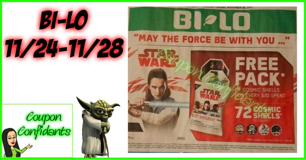 Bi-lo Best Deals 11/24 – 11/28