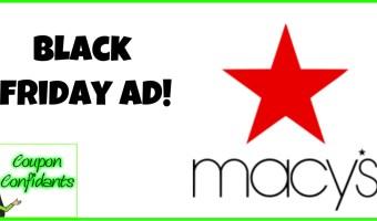 Black Friday Macy's Ad!!